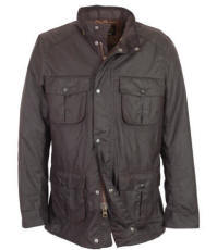 Mens Barbour Corbridge Waxed Jacket - Rustic