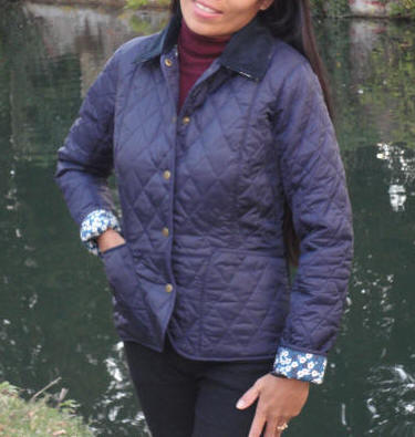 Barbour Ladies Liberty Liddesdale Quilted Jacket - Navy ... : barbour shaped liddesdale quilted jacket - Adamdwight.com