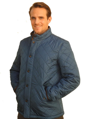 Barbour Powell Jacket Navy Sale