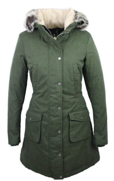 Barbour Ladies Wrest Waterproof Coat - Olive -lwb0300ol71 | Red ...
