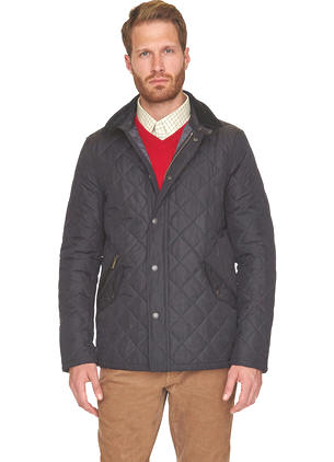 Barbour Alderley Quilted Jacket - Navy MQU0614NY71 - Red Rae Town ... : barbour hampton quilt jacket - Adamdwight.com