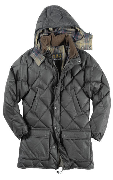 Barbour Down Wax Explorer Quilted Jacket Barbour Jackets