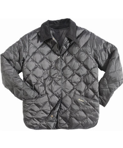Womens Barbour Liddesdale Down Quilted Jacket - Black