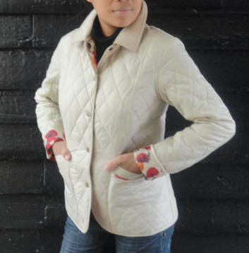 Womens barbour winter liddesdale polarquilt jacket