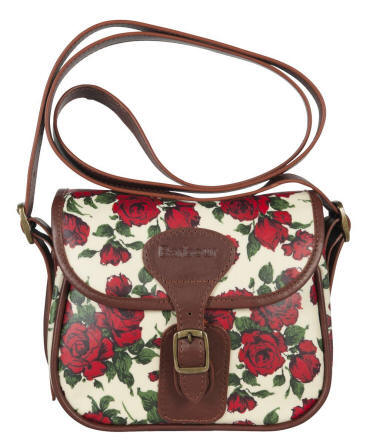 65091e3dd3e5 Barbour Ladies  Mini Liberty Rose Beaufort Bag - Red Rae Town ...