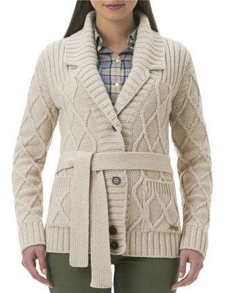 59f745ec330bc8 Barbour Ladies Ladyhill Cardigan Sweater LKN0253CR5110 | Red Rae Town &  Country Barbour Knitwear