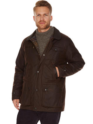 Barbour Powell Quilted Jacket - Red Rae Town & Country and with ... : mens black barbour quilted jacket - Adamdwight.com