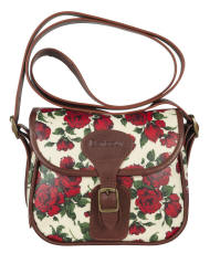 Womens Barbour Mini Liberty Rose Beaufort Bag