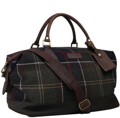 b65f4ddee16 Barbour Wax Cotton Holdall Bag - Red Rae Town & Country Clothing Online