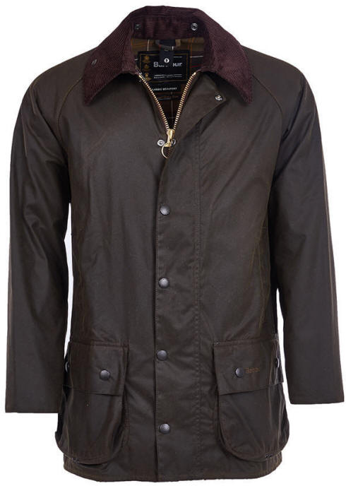 828c031b5070 Barbour Classic Beaufort Olive Sykoil Wax Jacket