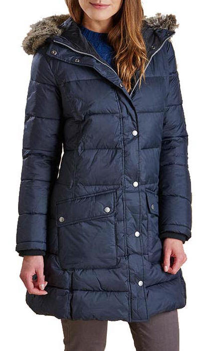Barbour Ladies Buoy Quilted Padded Jacket - Black LQU0561BK11 ... : ladies quilted jacket sale - Adamdwight.com