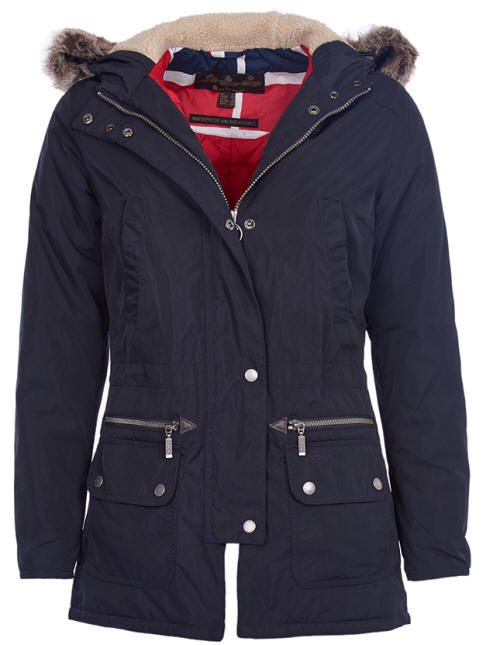 barbour ladies coats