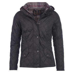 18a319c9f6154 Barbour Ladies Carlin Quilted Jacket - Black