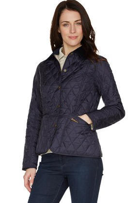 Barbour Quilted Jacket Womens Liddesdale