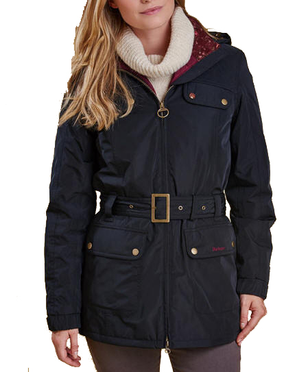 Optym | womens barbour britannia waterproof jacket