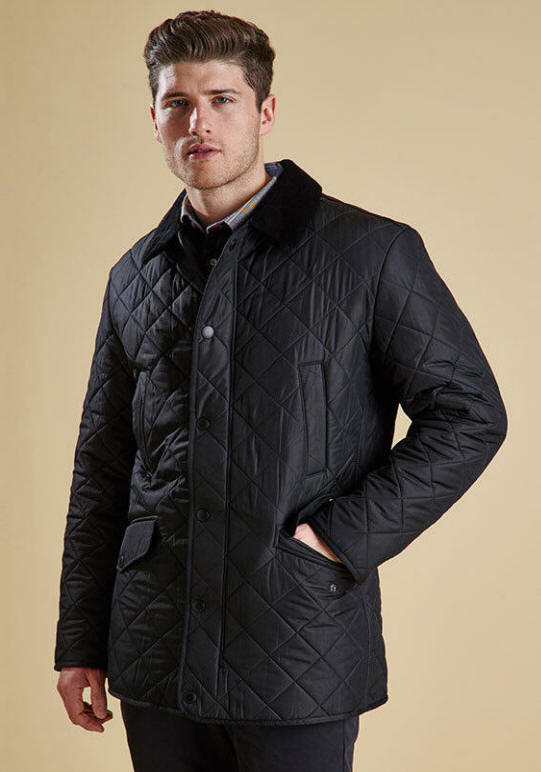 barbour mens quilted jacket sale