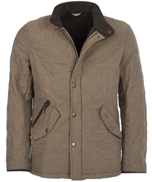Barbour Bowden Quilted Jacket Olive Mqu0615ol71 Red Rae Town