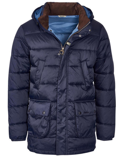 Barbour Mens Fairfor Quilted Padded Jacket Mwx0697ny91