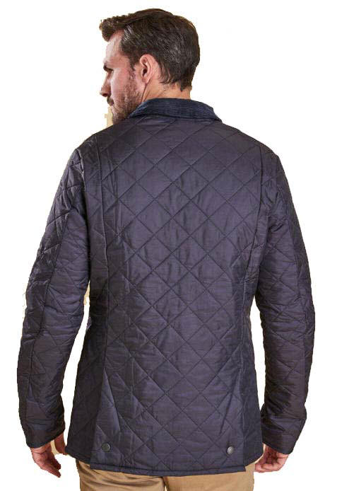 Barbour Mens Heritage Quilted Jacket - Navy MQU0240NY92  37ed2730004b