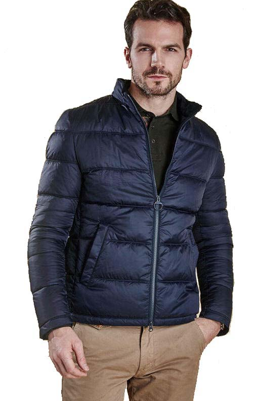 f7d2ac922d940 Barbour Mens Leven Quilt Jacket - Navy MQU0788NY91 - Red Rae Town ...