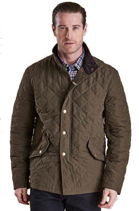 d97a391145915 Barbour Mens Shovelar Quilted Jacket Olive - MQU0784OL73 | Red Rae ...