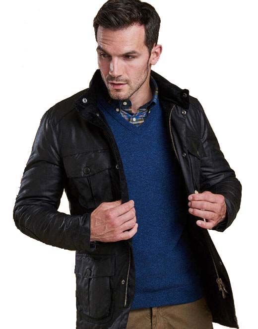0576c85db9250 Barbour Corbridge Wax Jacket Black - MWX0340BK91| Red Rae Town ...