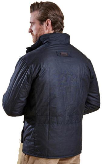 Barbour Mens Winter Utility Wax Jacket Navy Mwx0903ny92