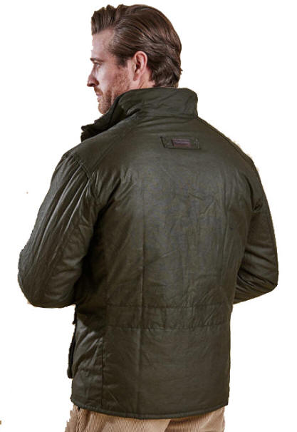 Barbour Mens Winter Utility Wax Jacket Olive Mwx0903ol711