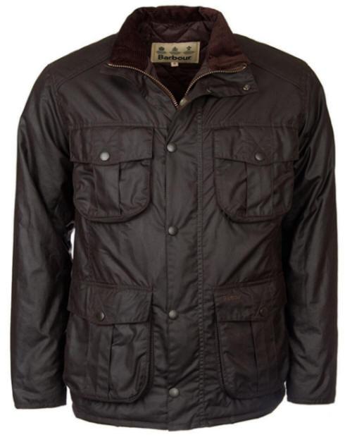 Barbour Mens Winter Utility Wax Jacket Rustic