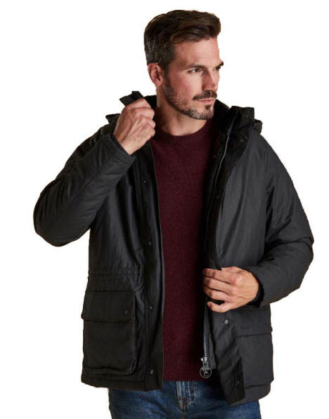 barbour woodfold jacket