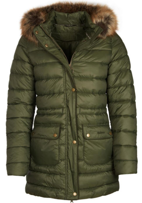 0eccab45721 Barbour Women Redpoll Quilted Jacket Olive - MQU0975OL51