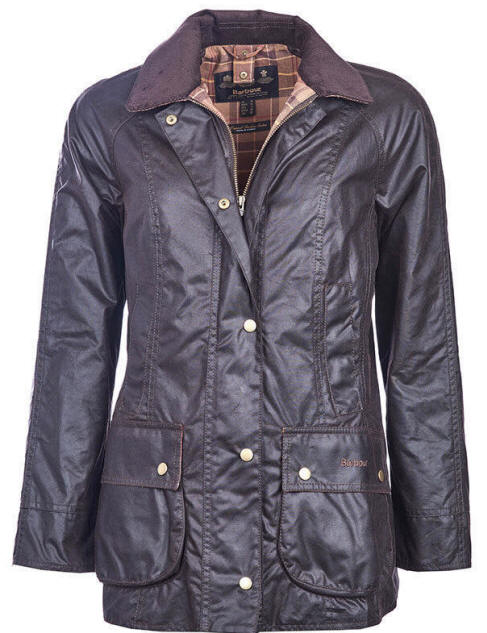 Barbour Womens Beadnell Wax Jacket Rustic - LWX0667RU51