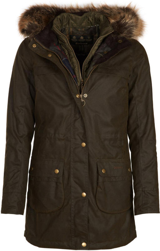 2796e4f63 Barbour Womens Dartford Wax Jacket Olive - LWX0879OL51 | Red Rae ...