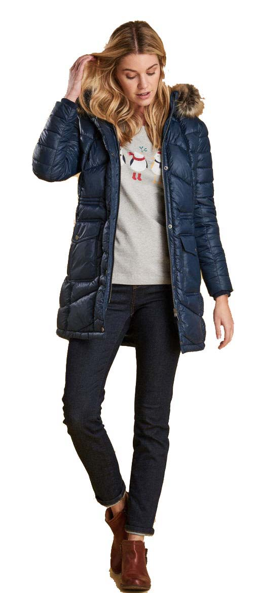 Sökande Mentor Sherlock Holmes  Barbour Womens Hamble Quilted Jacket Navy - MQU0953NY71 | Red Rae ...