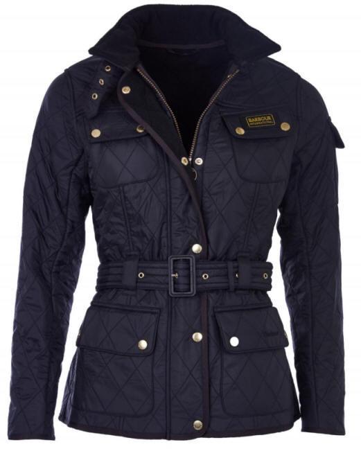 Barbour Womens International Polarquilt Jacket Black - LQU0030BK91 ... 3e076e7a2