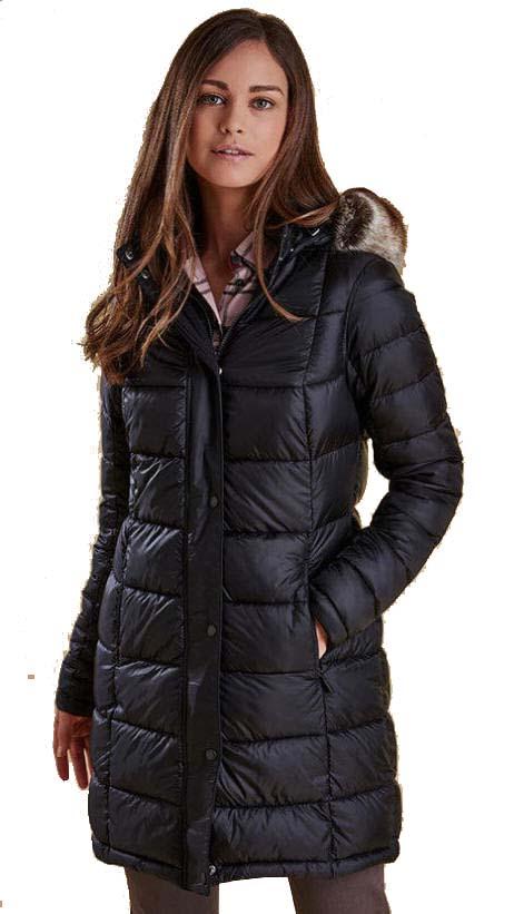 Barbour Womens Haven Quilt Jacket Black Lqu0752bk11 Red Rae Town