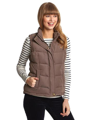 HIGHAM Womens Heavyweight Padded Gilet