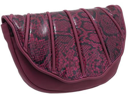 The VEDA Python Trim  Shell  Clutch Bag With Detachable Shoulder Strap  (Attaches Internally) And Hidden Magnetic Fastening Under The Flap. 584c695480dab