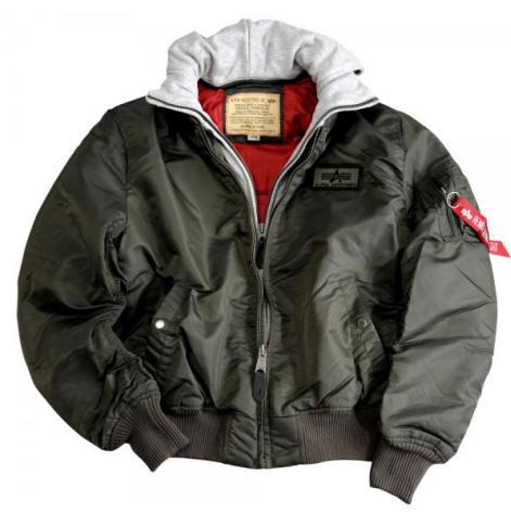 alpha industries ma d tec flight jacket rep grey dark. Black Bedroom Furniture Sets. Home Design Ideas
