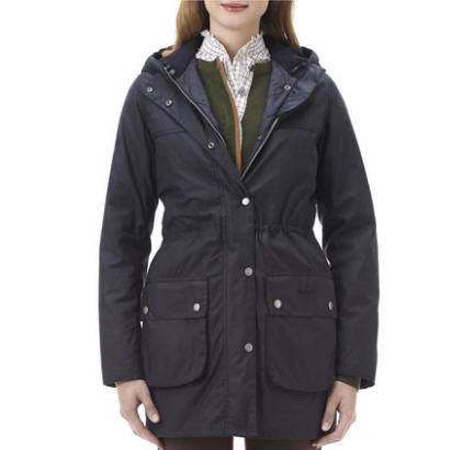 Barbour winter force parka herren