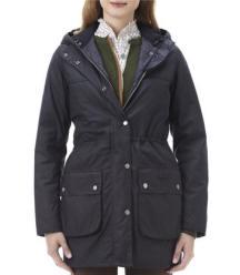 Barbour Ladies Annadale Quilted Jacket Black Lqu475bk91