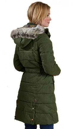 Barbour Belton Quilted Padded Jacket - Olive - LQU0449OL71 | Red ... : quilted ladies coat - Adamdwight.com