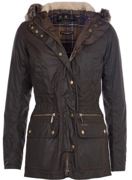 The Hannah Long Waxed Cotton Jacket for Ladies provides great protection from the elements with a form-flattering design. The jacket has side pockets, the neck sports a stylish corduroy trim and the interior has a comfy check lining/5(13).