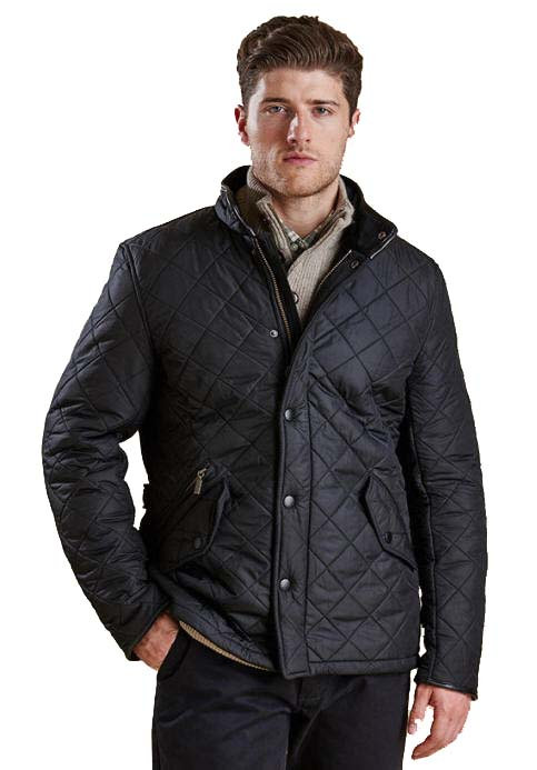 Barbour Powell Quilted Jacket - Red Rae Town & Country and with ... : quilted jackets mens - Adamdwight.com