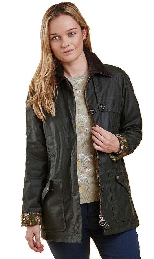waxed jacket womens
