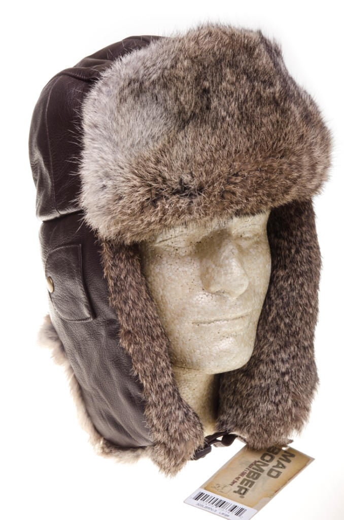 4c0f5acdc Barmah Leather Mad Bomber Hat - Brown | Red Rae Town & Country