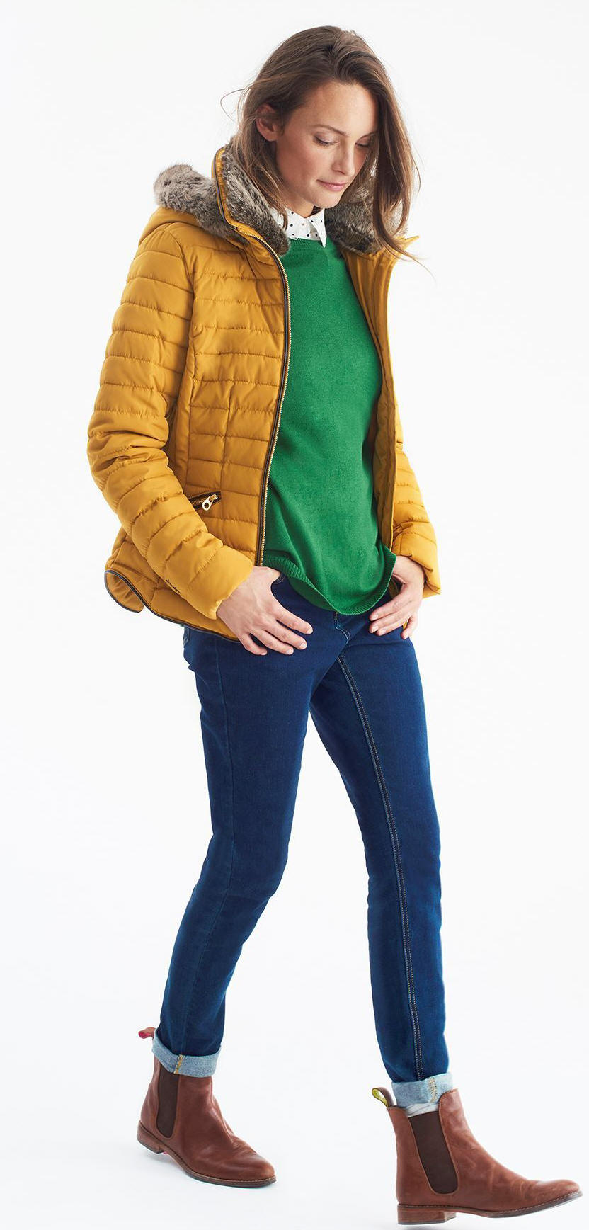 latest modern techniques beautiful and charming Joules Womens Gosling Padded Jacket - Caramel; Red Rae Town ...