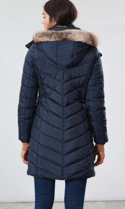 Joules Women's Cherington Down Coat