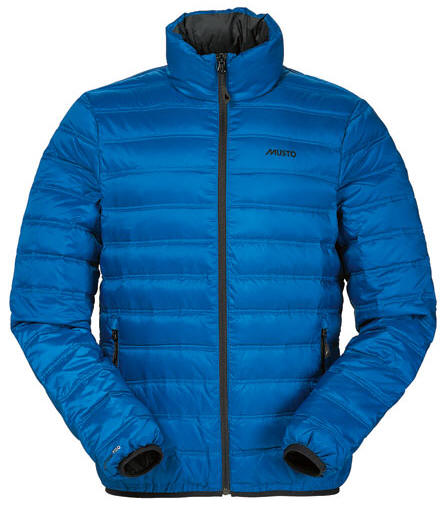 Musto Mens Evo Crozier Micro Down Jacket Cadet Blue